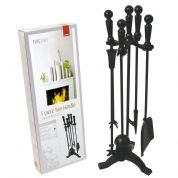 De Vielle Turn Handle Companion Set (black) DEV711
